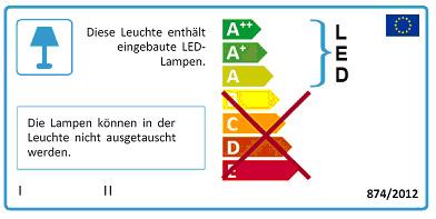 Energielabel erneuert für LED, Lampen und Leuchten WELECON